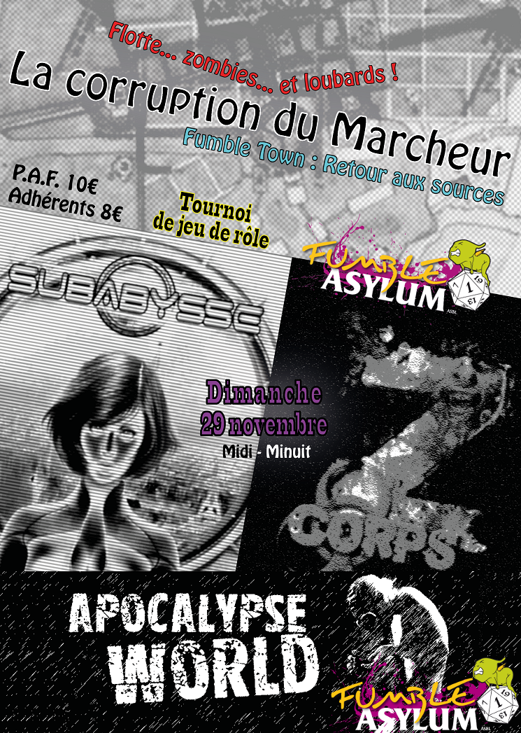 Fumble Town 09 La Corruption du Marcheur (automne 2015)