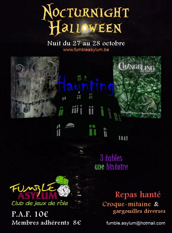 Fumble Town 02 Haunting Asylum (halloween 2012)