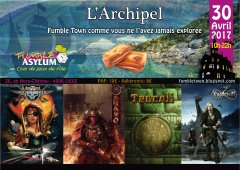 Fumble Town 14 : L'Archipel (avril 2017)